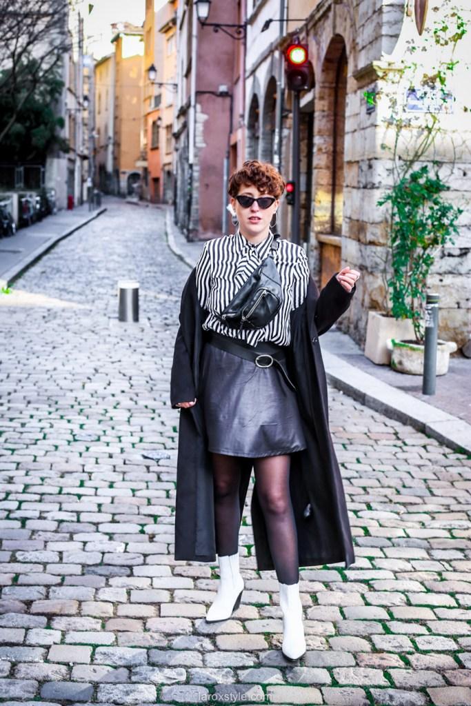 blog mode look noir et blanc