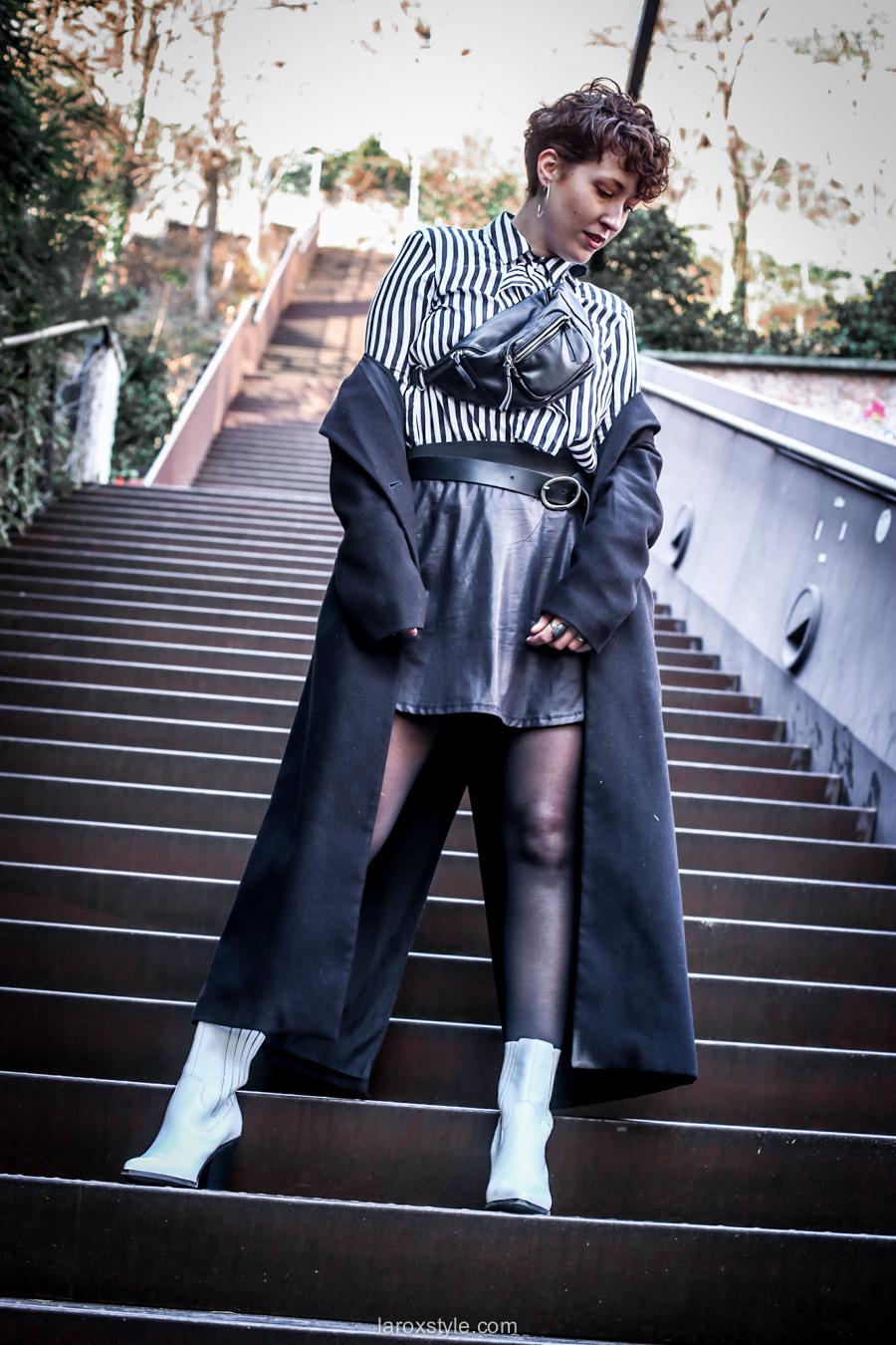 L'intemporel look Noir & Blanc (4 Styles se cachent dans ce look) !