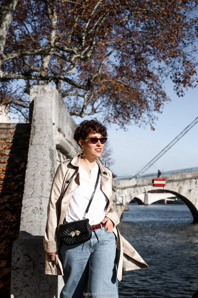 look blog trench coat - comment porter le trench coat avec style