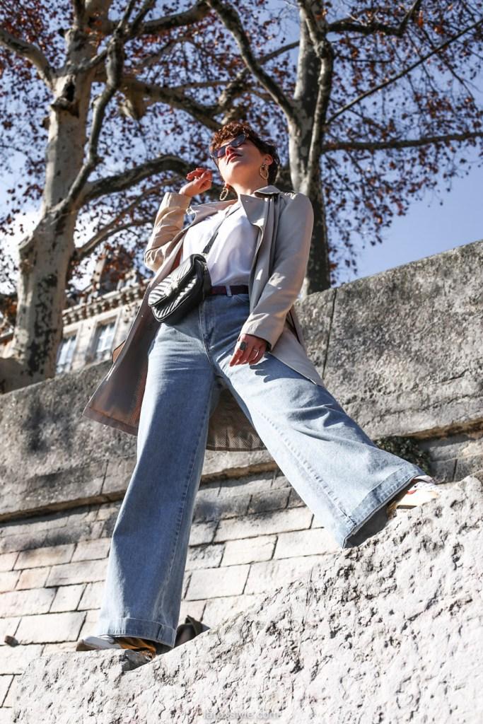 look blog trench coat - comment choisir le trench coat en fonction de sa morphologie