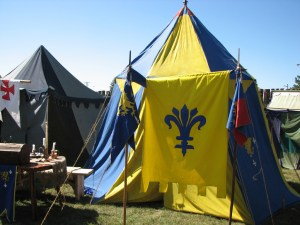 Medieval Tent at a Festival