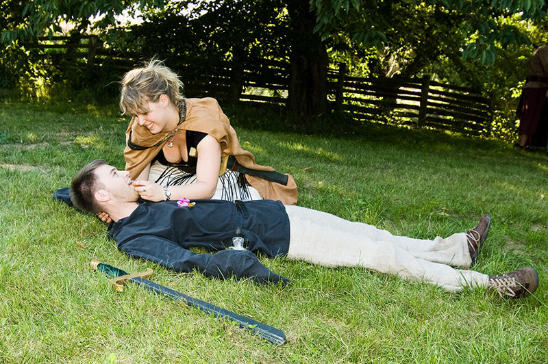 LARP - Playing a Positive Role in healing