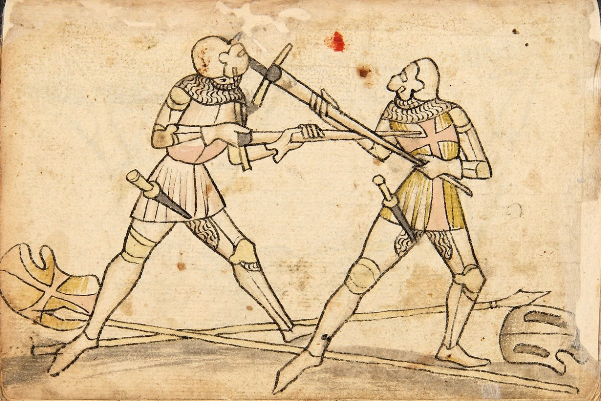 Actual Medieval Techniques as a LARP Combat Inspiration