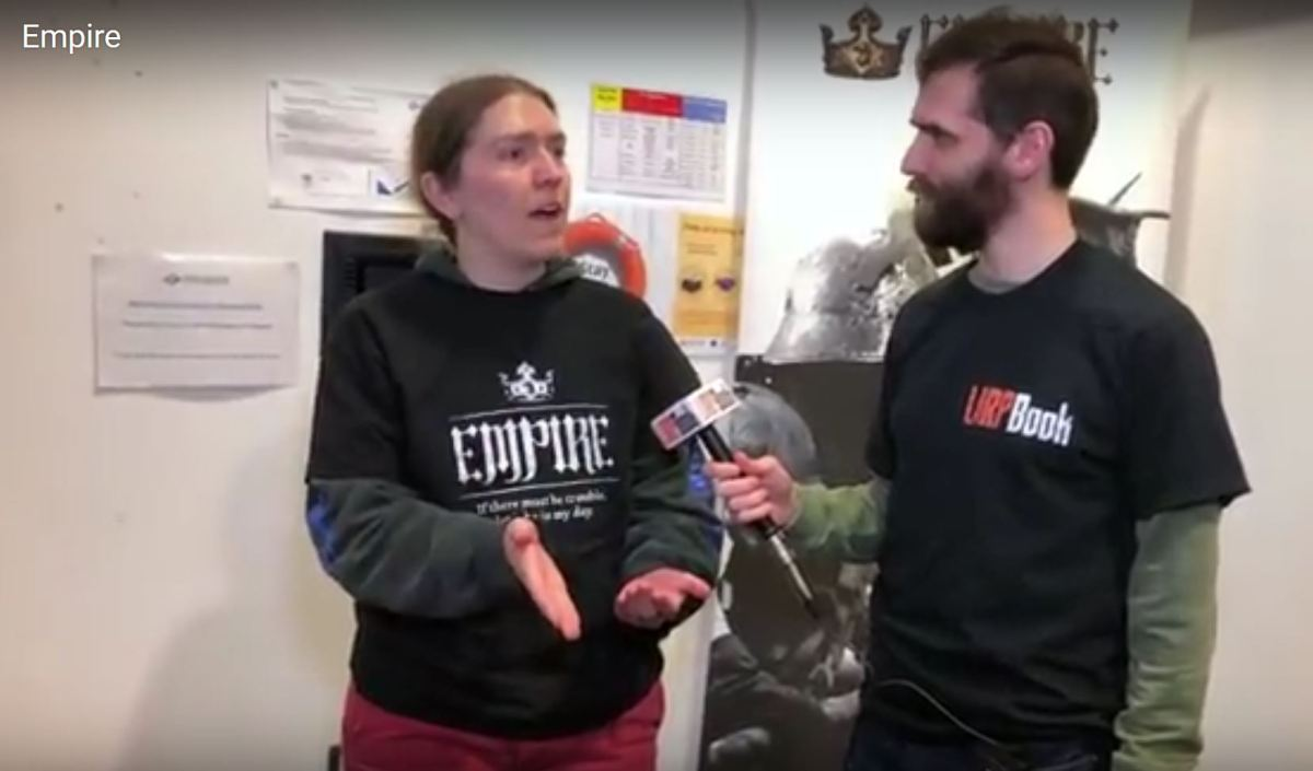 What's Your Game 2018 - Interview with Eleanor about Empire