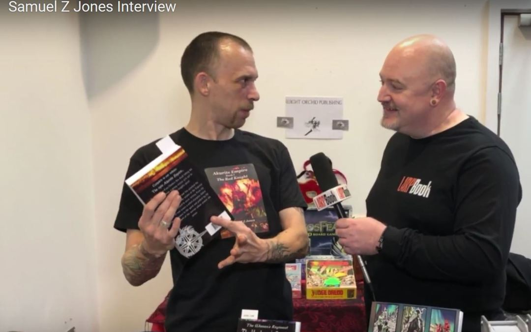 What's Your Game 2018 – Interview with Samuel Z Jones