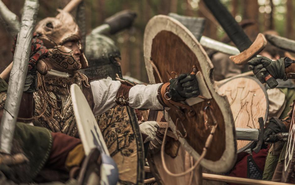 The Battle Of Five Armies Larp - Battle Scene