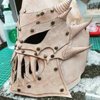 WIP Wednesday: Larp Gear, Masks & a Quiver!