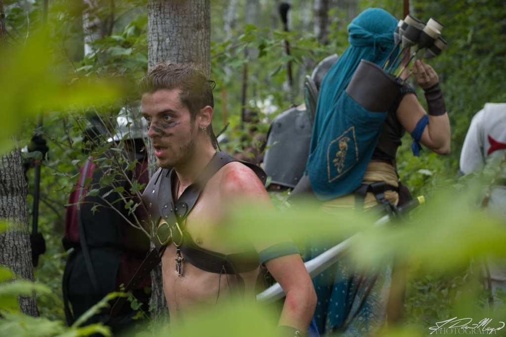 Philoctetes Kapra in the Woods