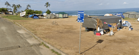 Hawaii - No Camping