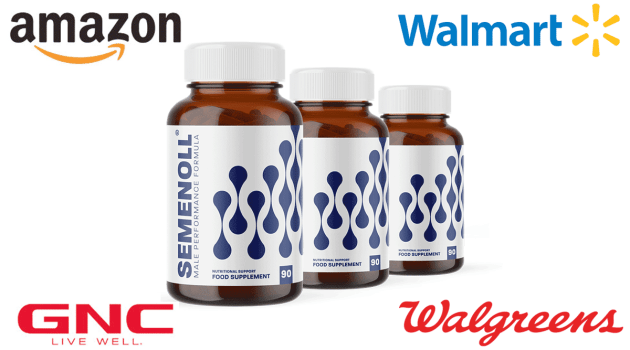Semenoll where to buy Amazon, GNC, Walgreens or Walmart?