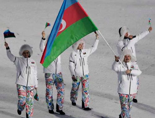 Azerbaijan Olympic pants