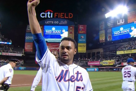Image result for johan santana no hitter