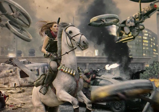 Daphne Avalon horse lady COD
