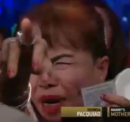Manny Pacquiao mom