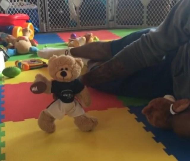 Brandon Marshall Teddy Bear