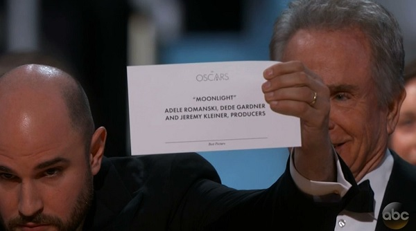 Image result for cartoons 2017 academy awards mistake announce wrong picture