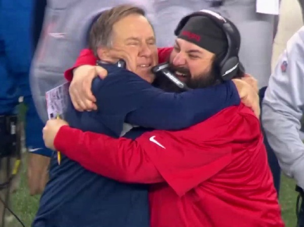 Image result for matt patricia bill belichick