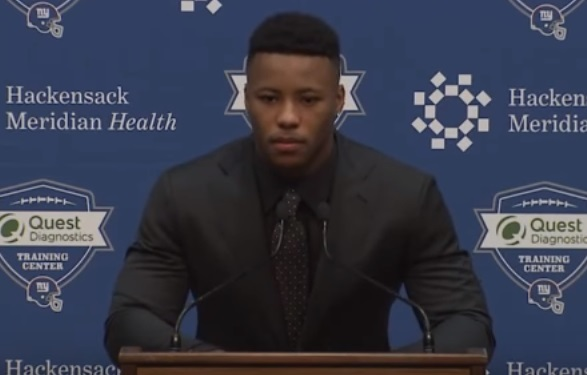 Report: Saquon Barkley expected to miss several weeks with ankle injury