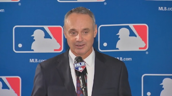 Rob Manfred apologizes for trivializing World Series trophy as