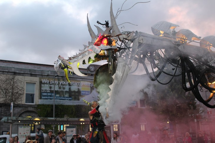 dragon from galway