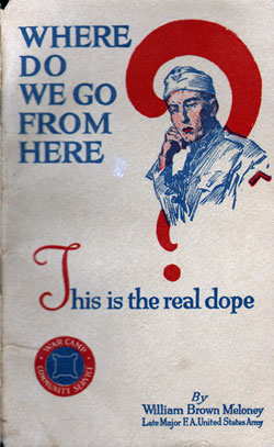 Book given to U.S. veterans in 1919 to help th...