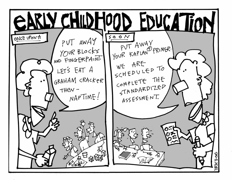 Cartoons On Preschool And Kindergarten