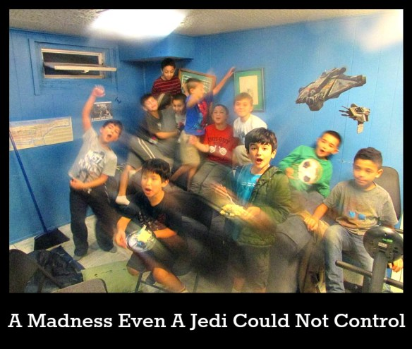Star Wars Birthday Party Madness
