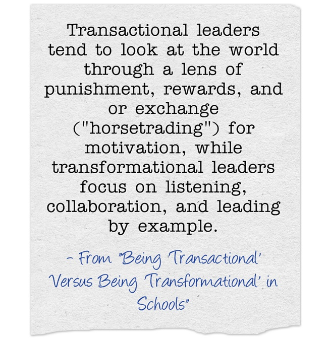 Transactional-leaders