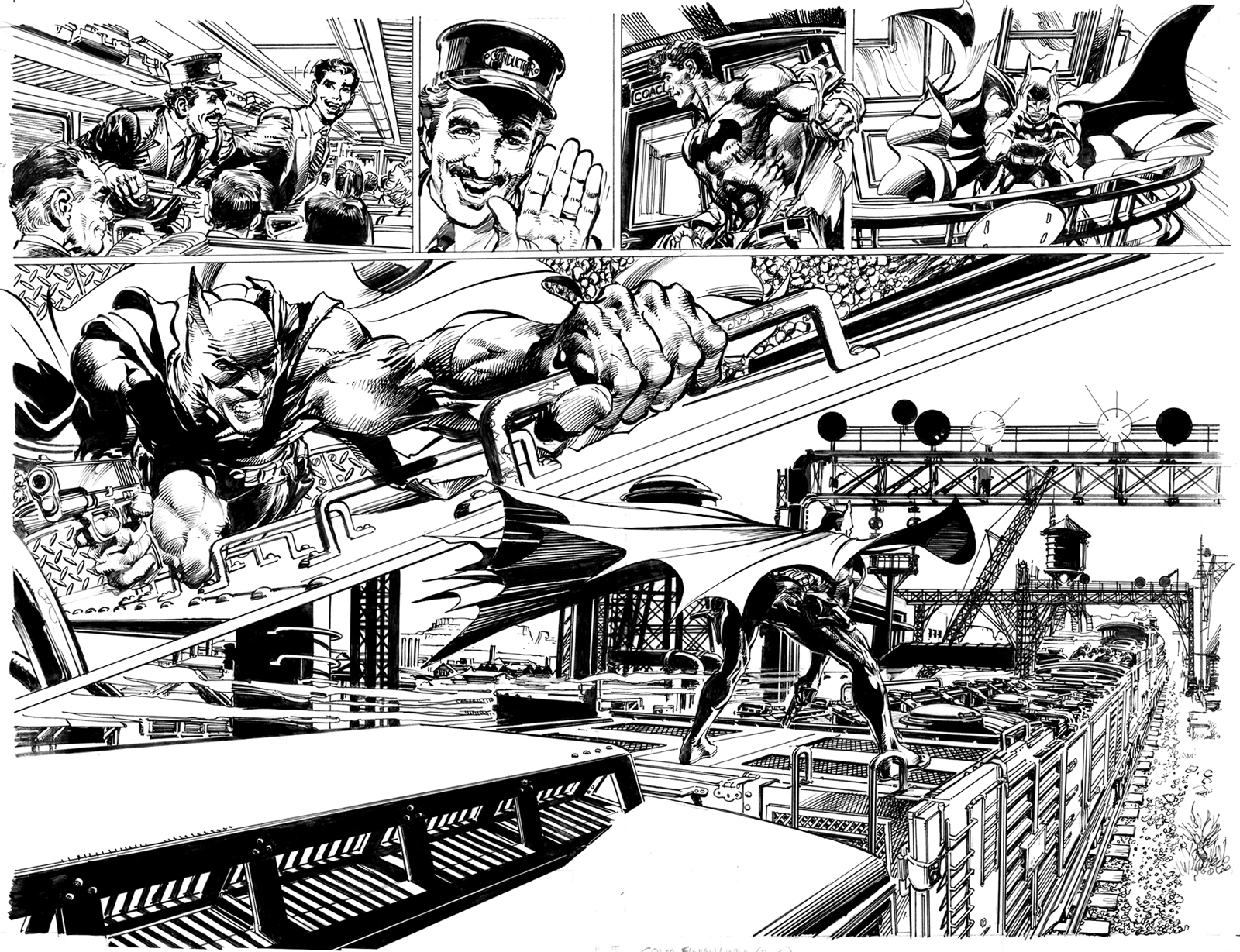 Legendary Comic Book Creator Neal Adams Returns To Batman