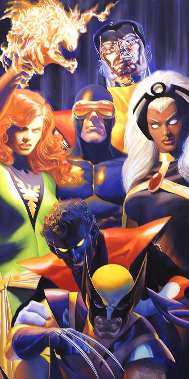 Alex Ross Debuts New X Men Amp Captain America Art For Comic