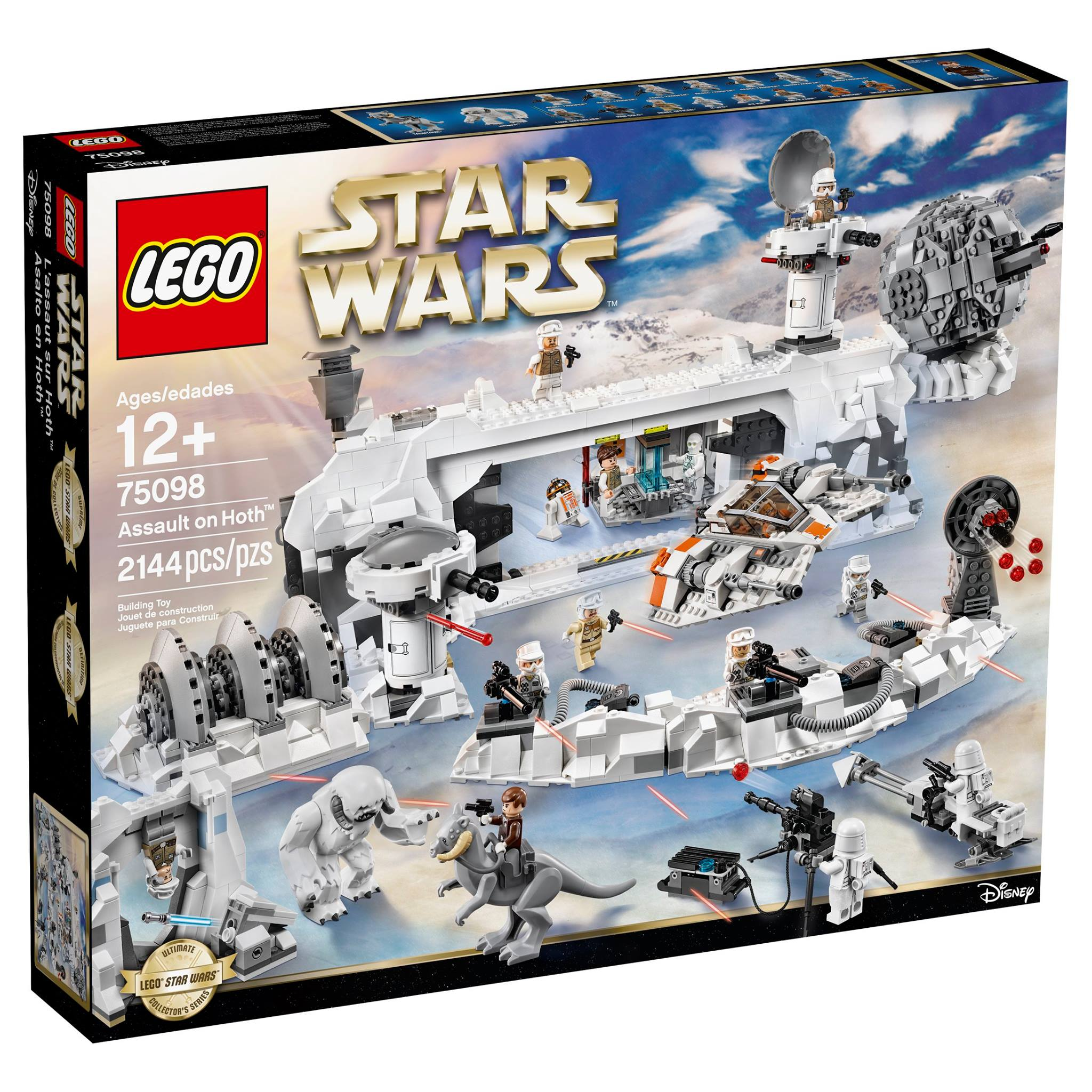 Lego Star Wars Ultimate Collector S Series Assault On Hoth