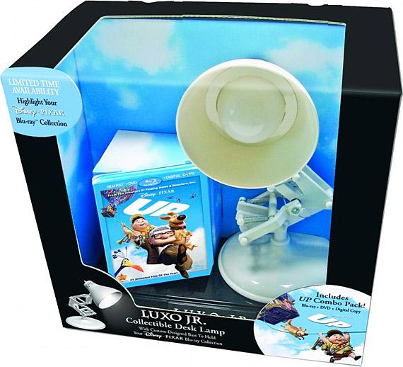 Pixars Up Limited Edition Luxo Jr Lamp Pack DVD Set