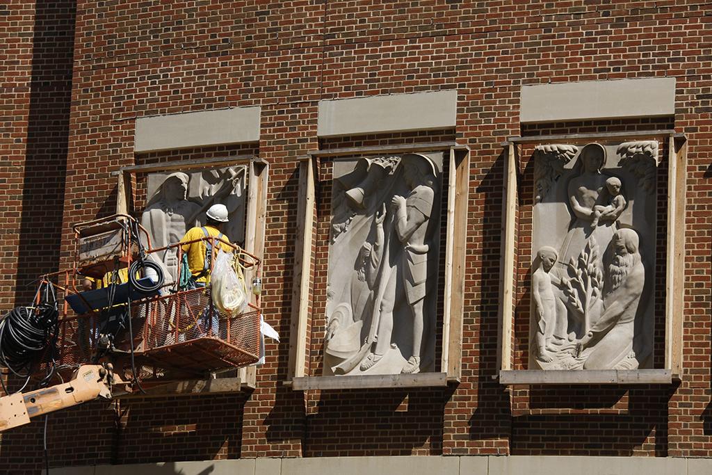 Relief Sculptures © Larry Hamill