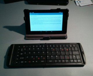 Nexus 7 and Verbatim Keyboard
