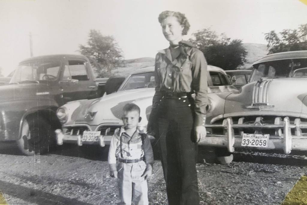 Mom & Larry