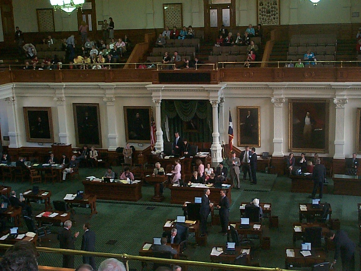 Texas Legislature in Session
