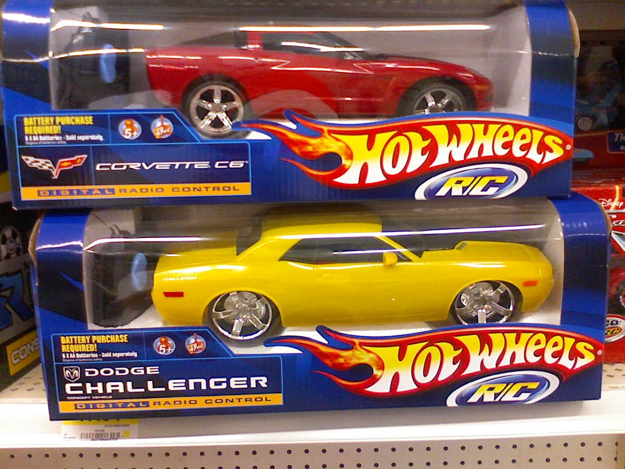 Hot Wheels Challengers