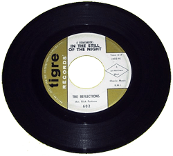 In The Still of the Nite released on Indianapolis-based Tigre Records in 1964 by The Reflections