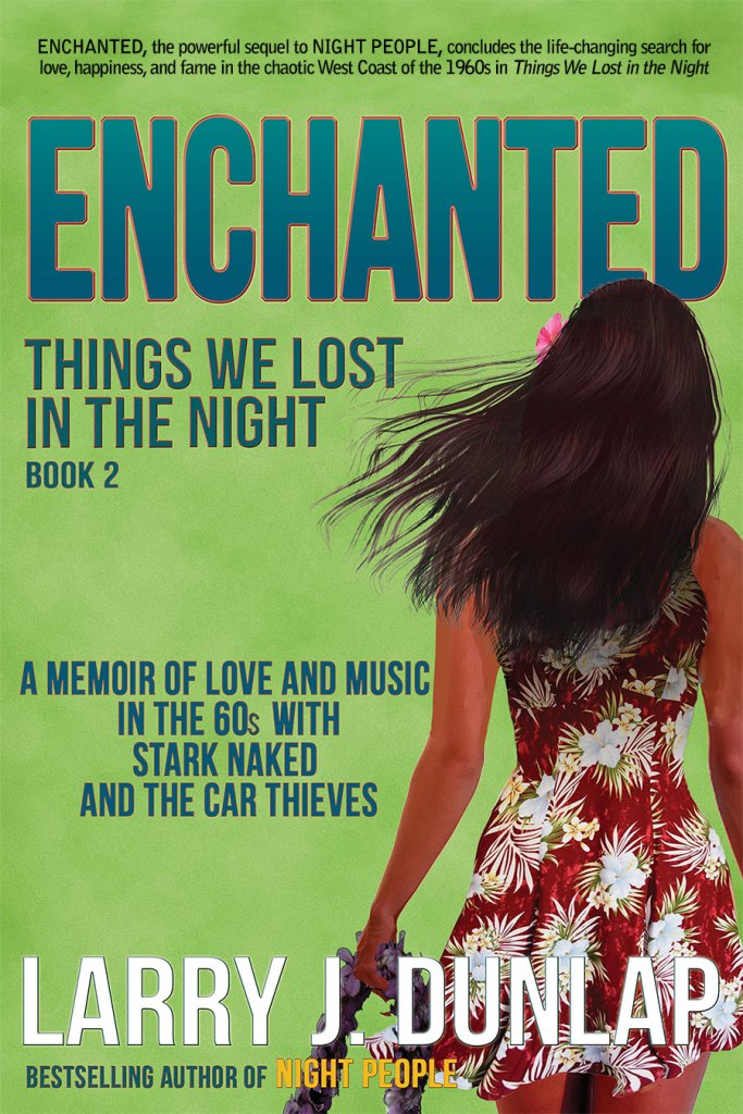 Book Cover: ENCHANTED, Book 2 - Things We Lost in the Night (eBook)