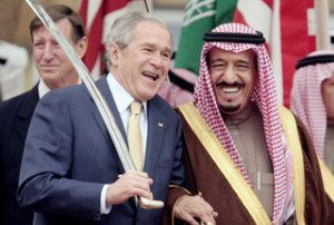 saudi-bush-presstv-SRC: http://newsrescue.com/saudi-royals-funded-911-lawyers-ny-times-report/#axzz2sfIgnwBV