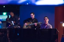 photo of Walter Smith, Larry Koonse, Josh Nelson at Discoveries