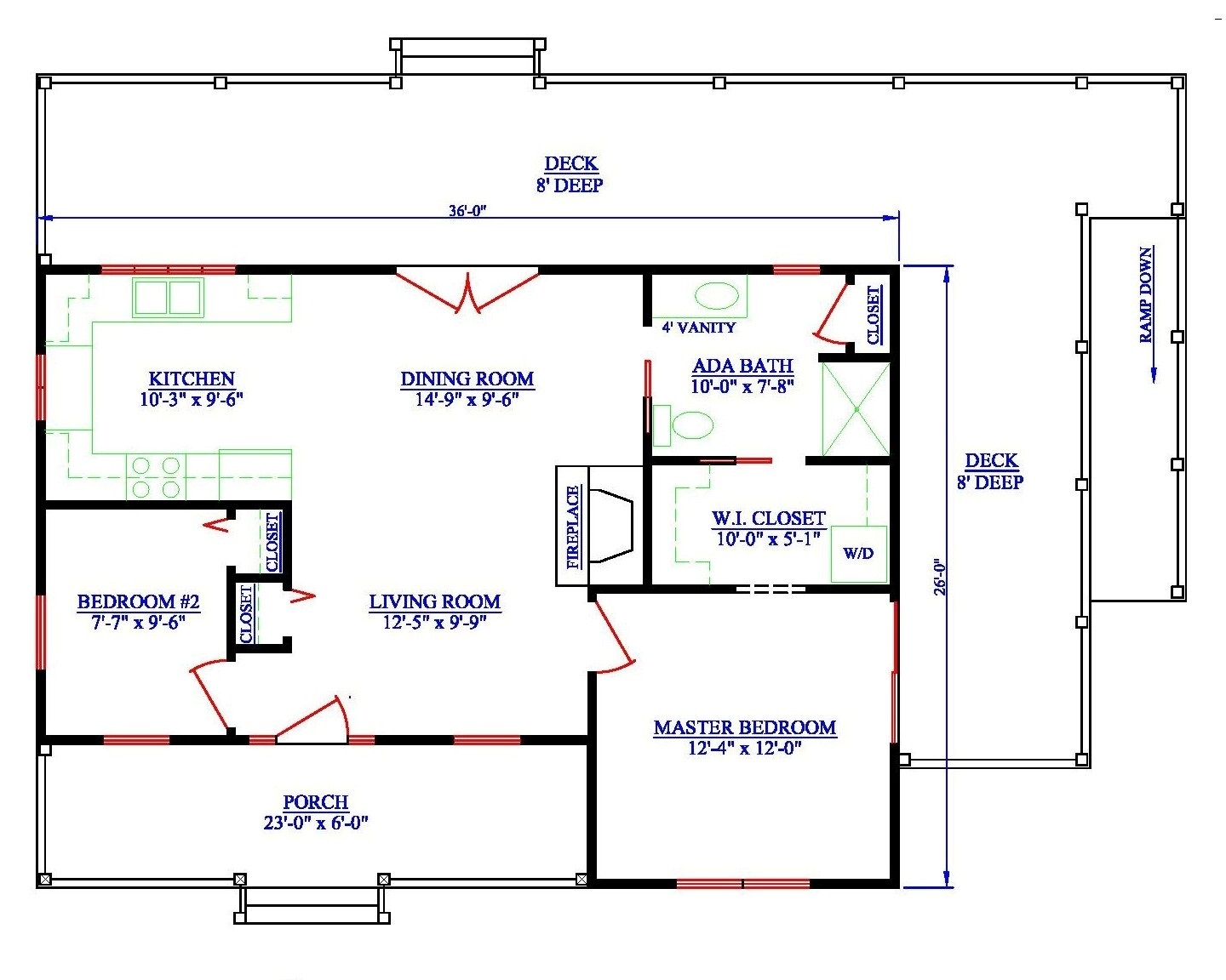Wheelchair Accessible Tiny House Plans