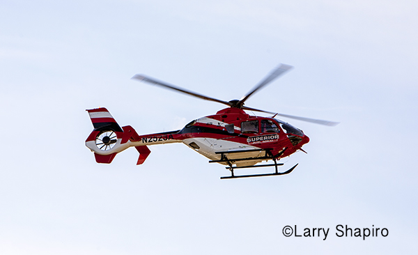Eurocopter EC135 P2+ helicopter