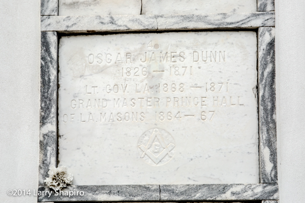 old grave marker in the St Louis Cemetery New Orleans