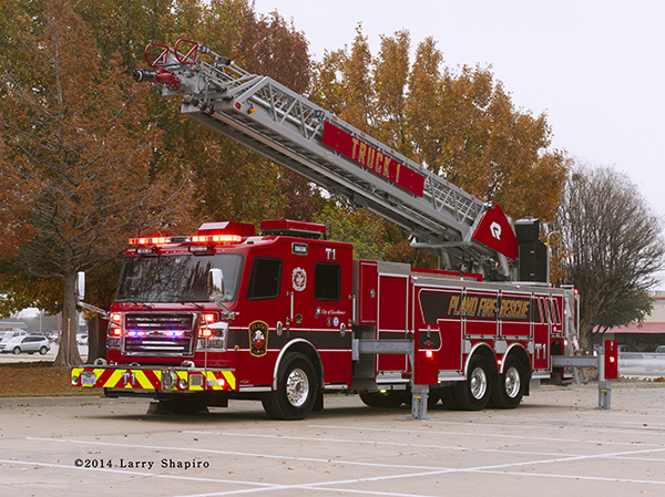 Rosenbauer America Commander fire truck