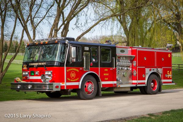Schaumburg Fire Department fire engine
