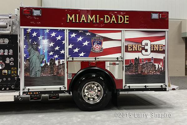 9/11 memorial fire engine mural