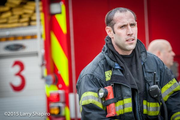 firefighter portrait after a fire