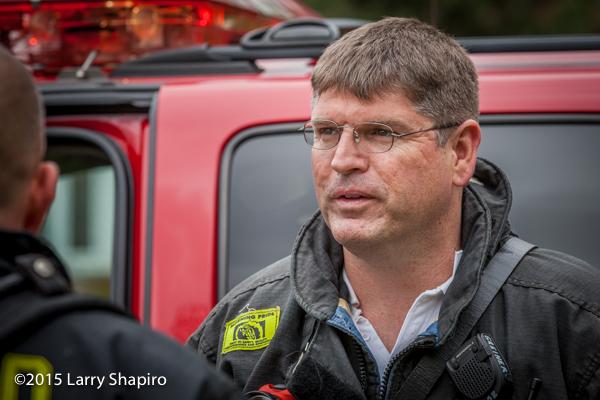 firefighter closeup