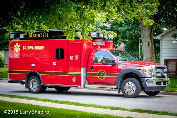 Brownsburg FD Medic unit